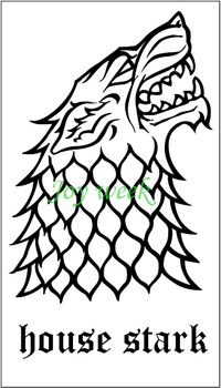 Game of Thrones wolf dragon snake tatto stickers flash tatoo fake tattoos for men women