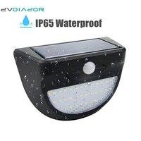 DVOLADOR Waterproof 37 LED Outdoor Solar Motion Sensor Lights Wireless Waterproof Garden Wall Light Motion Activated