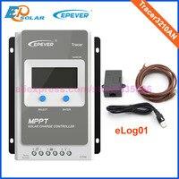 Солнечный 24 В зарядное устройство солнечный отслеживания EPEVER контроллер серии 30A elog01 запись данных Tracer3210AN tracer mppt