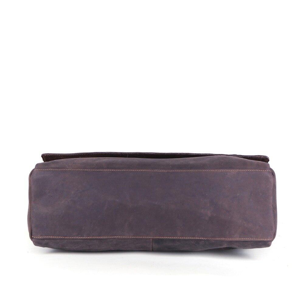 Мужские сумки для ноутбука, большая вместительность, многофункциональная, пригодная для 15,6 дюймового ноутбука, переносная водостойкая дел... - 6