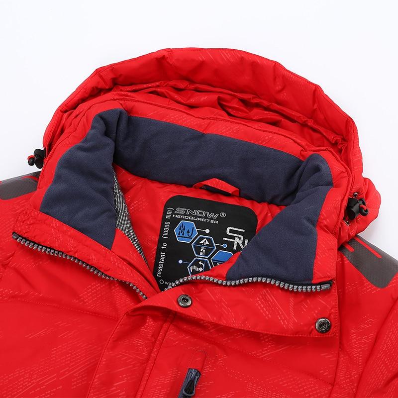 Extérieur nouveau costume de ski simple et double planche pour hommes imperméable coupe-vent vêtements d'alpinisme froid tenue de ville pour hommes - 5