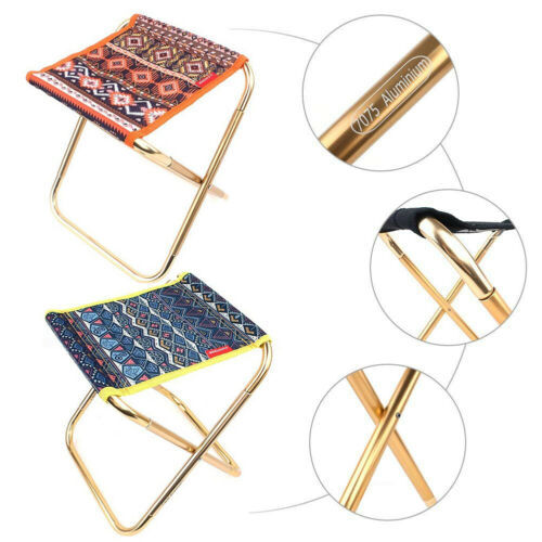New Portable Folding Stool Outdoor Camping Fishing Picnic Mini Chair Seat Chair