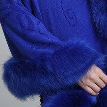 Fashion Women Faux Fur Coat Leather Grass Fox Fur Collar Ponchos And Capes Bridal Wedding Dress Shawl Cape Lady Wool Fur Coat