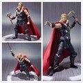 Caja Original El Ultron Avengers Película Hulk Thor PVC Modelo Figura de Acción de Superhéroe BANDAI SHF Genuina Juguete gif