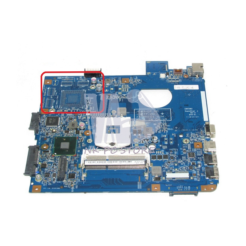 NOKOTION For Acer aspire 4743 4743G Laptop Motherboard MBRFK01002 MB.RFK01.002 JE43 CP MB 48.4NI01.02M HM55 UMA DDR3