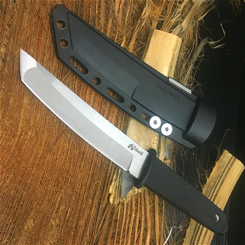 PEGASI Cold Steel ABS handle 58HRC hunting knife 440C field survival knife multi-function survival tool collection gifts