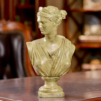 Venus Aphrodite Bust Statue Lord Of Olympia Resin Craftwork Roman Mythology Office Hotel Living Room Decoration Gift L2191