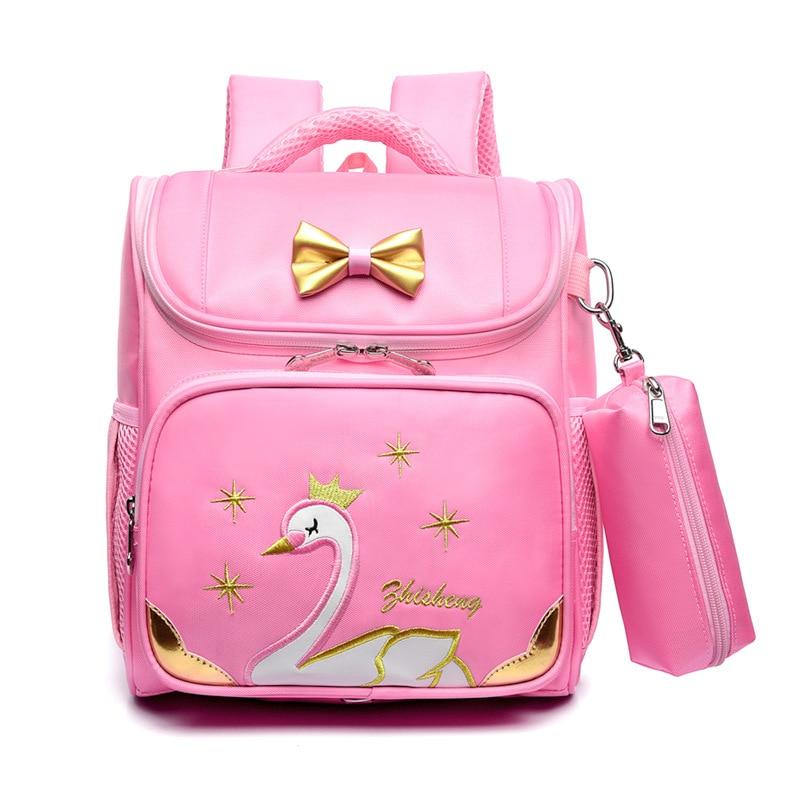 Primary school girl 1-3-4 grade princess 6-9 year old girl leisure backpack  school bags for girls  cute cartoonPrimary school girl 1-3-4 grade princess 6-9 year old girl leisure backpack  school bags for girls  cute cartoon