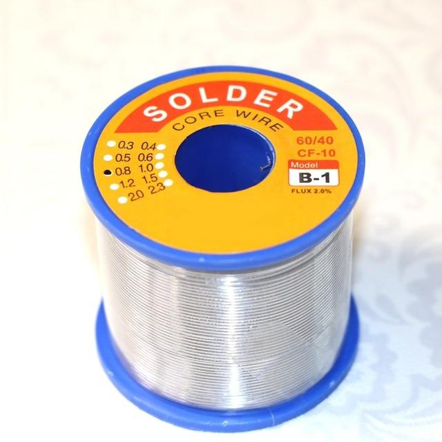 0,8mm Zinn Solder Löten Schweißen Eisendraht Blei Kolophonium Kern ...