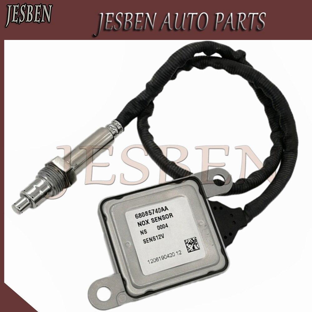 Nox Nitrogen Oxide Sensor Rear 68085740AA fit For Ram 2500 3500 4500 5500 2013 2015 6.7L Part NO# 5WK96730 5WK9 6730|Exhaust Gas Oxygen Sensor| |  - title=