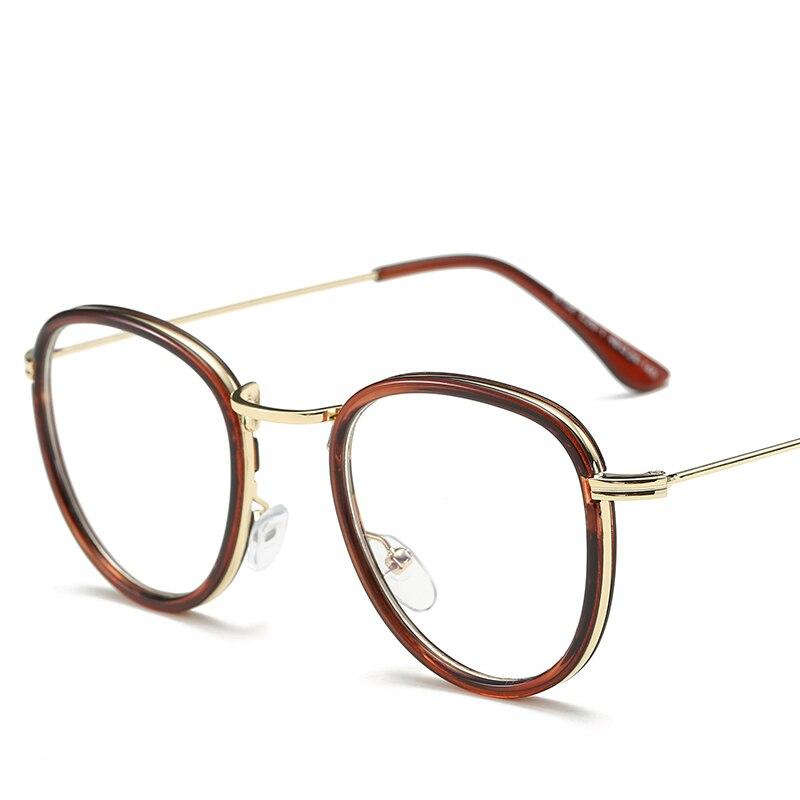 Γύρος Vintage Leopard Χρυσό Γυαλιά Frame - Αξεσουάρ ένδυσης - Φωτογραφία 2