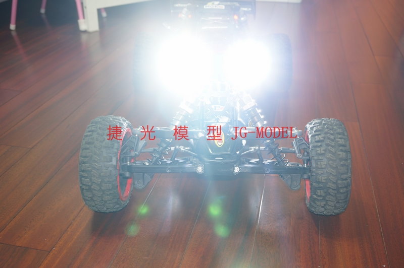 Super LED Bright Headlights And Taillight For Rovan KM HPI 1/5 BAJA 5B 5T