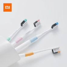4Pack Xiaomi Toothbrush High Density Soft Bristle Antibacterial Toothbrushes Adults Teeth Brushes 4 Separate  Travelling Boxes