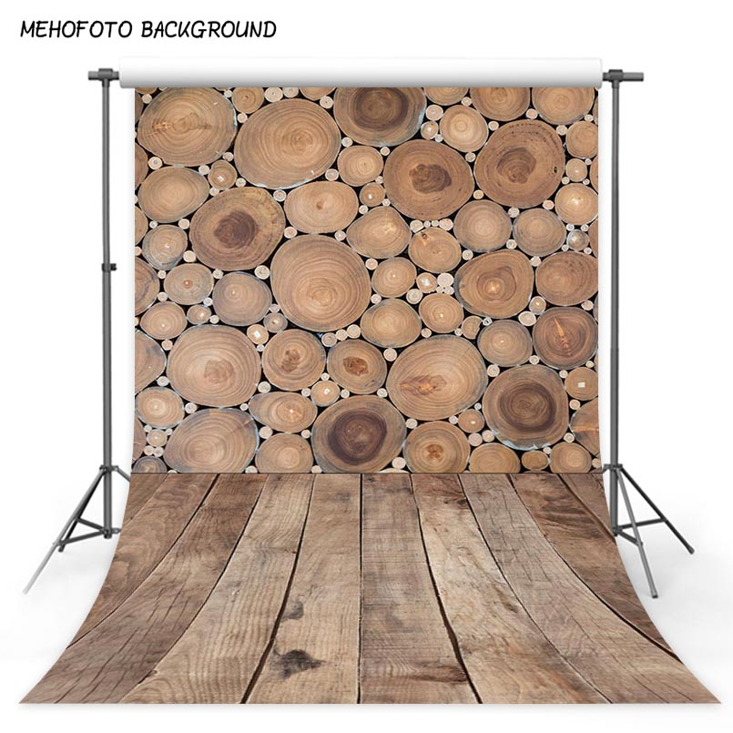 Vinyl Photography Backdrops Retro Wood Photo Background Computer Printed Children Backdrops for Photography Studio S 2970 in Background from Consumer Electronics