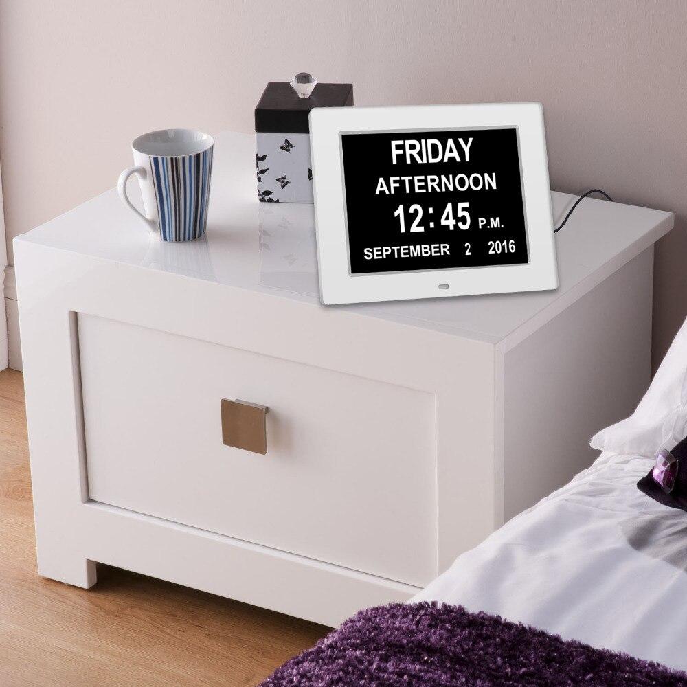 Calendario Digitale Per Anziani.Us 51 75 Giorno Orologio Digitale Calendario Intelligente Extra Large Non Abbreviato Giorno E Mese Per Gli Anziani In Particolare La Demenza