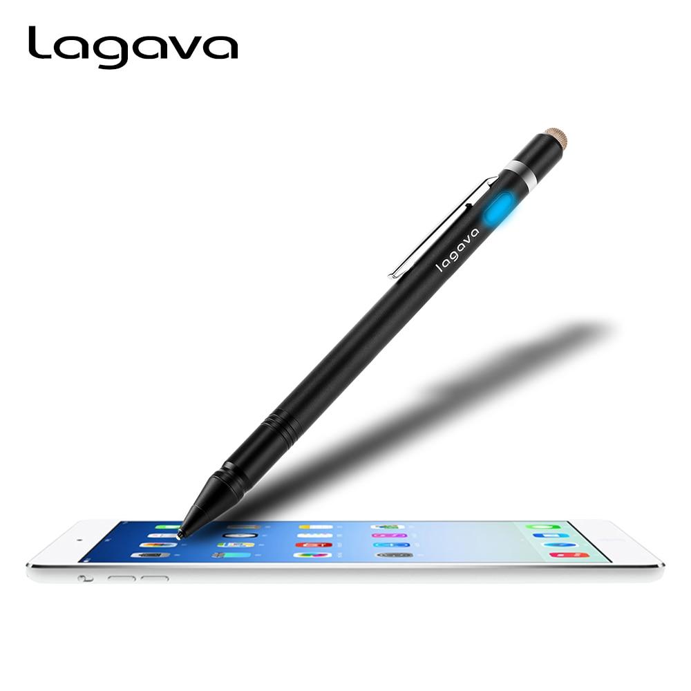 Lagava Универсальный Активный Stylus карандаш, планшет Экран стилус с 1,45 мм наконечник для iPad Procreate зарисовка рисунок надписи