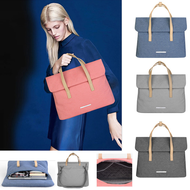"""Handbag Women Laptop Bags Sleeve Notebook Case for Dell HP Asus Acer Lenovo Macbook 13 14 inch Soft Cover for Retina Pro 13.3"""""""