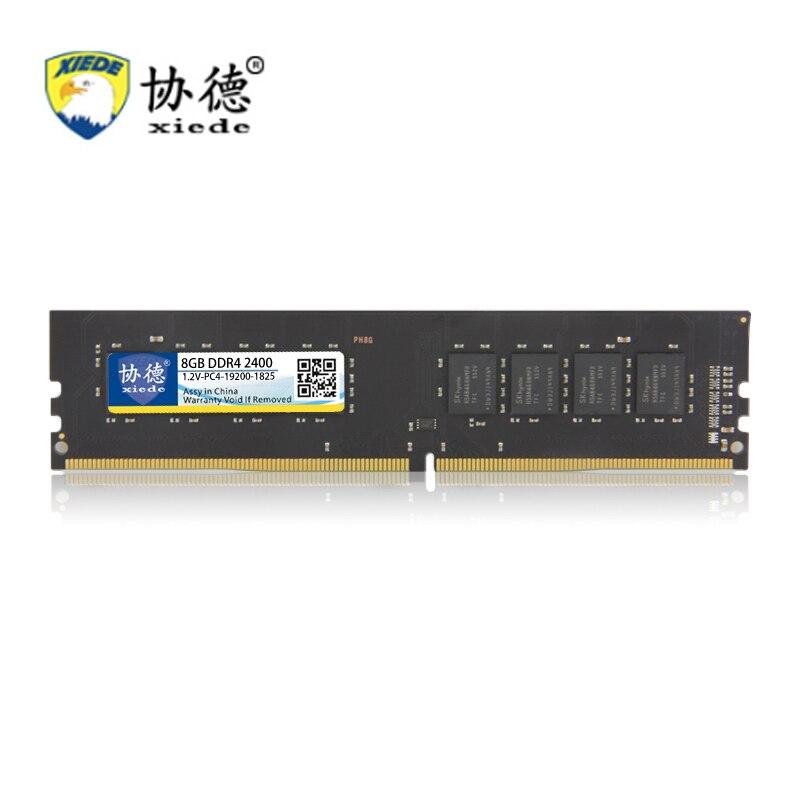 Pour Jeux Xiede DDR4 2400 Mhz 2400 Mhz 4 GB 8 GB 16 GB De Bureau PC Mémoire RAM Compatible Ordinateur béliers Quatrième Génération PC4 1.2 V