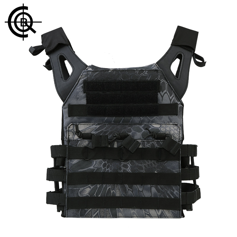 CQB Tactical Outdoor Vest Men Cordura Protect Sports Waistcoats Anti-seismic Camouflage Army Fans Equipment CBX0012