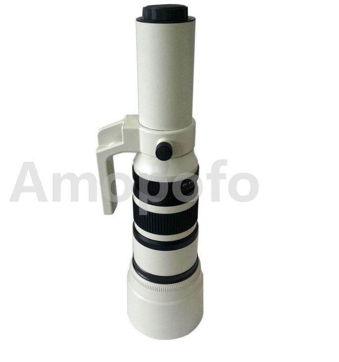 Amopofo, téléobjectif 500mm F6.3-32 pour Sony Alpha et pour caméra Minolta MA