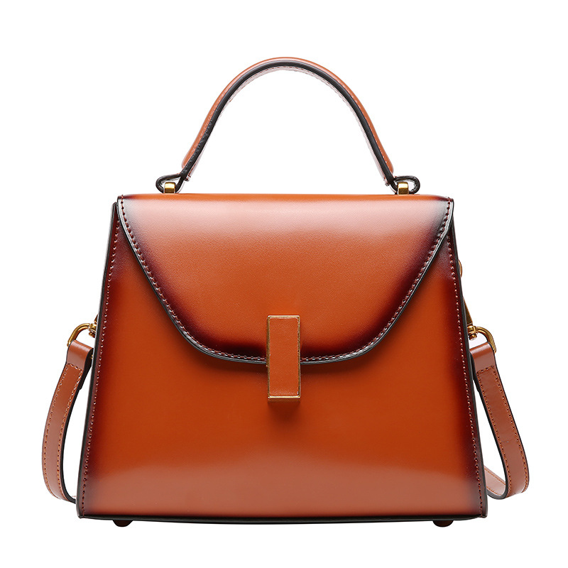 elegant Vintage shoulder bag 100% cow leather handbag brand new 2018 women genuine leather bolsa feminina messenger bag