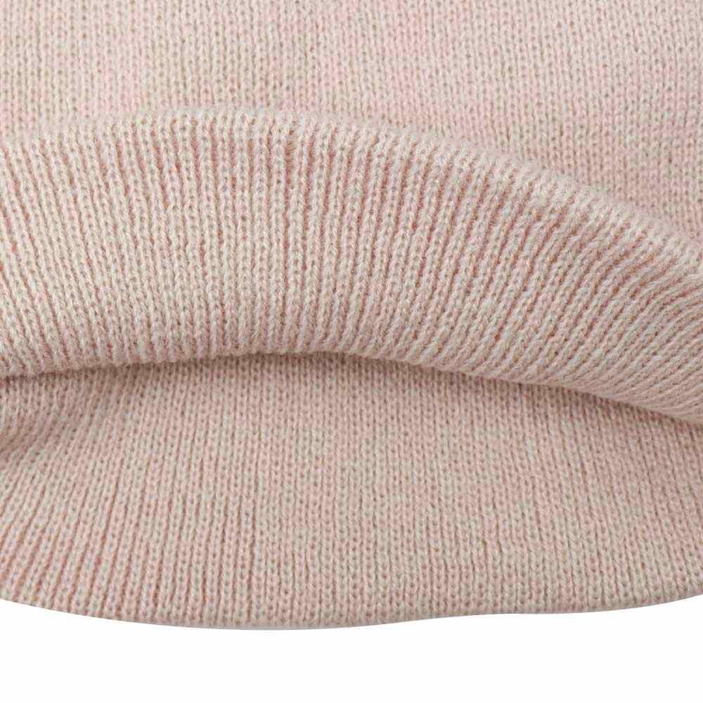 371f37eb810 ... 2018 Children Toddler Kids Baby Warm Winter Wool Knit Beanie Solid Fur  Pom Pom Bobble Hat ...