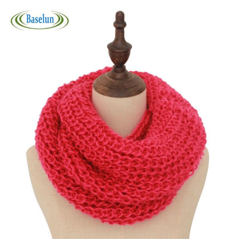 ̿̿̿(•̪ )2016 Nueva lana cuello Masajeadores de cuello warmer mujer ...