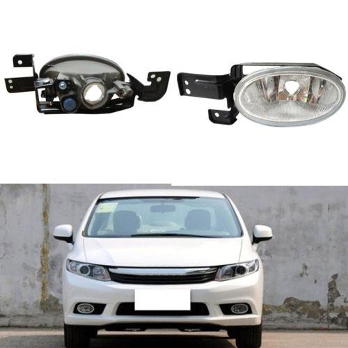 1Set Housing Light  Front Fog Bumper Lamp Light For Honda Civic 9 2012-2013