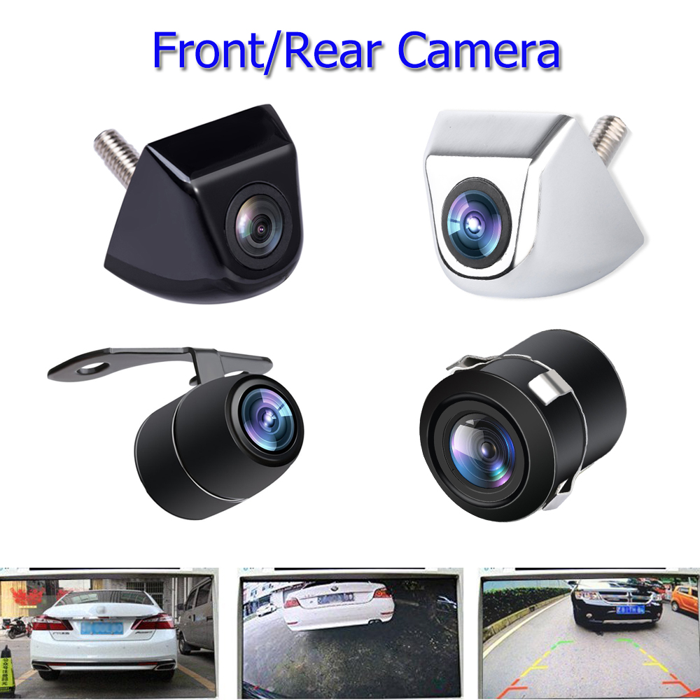 цена на Universal vehicle camera car front and rear view camera 170 Wide Angle Auto CCD HD Backup Reverse Parking Camera Waterproof 12V