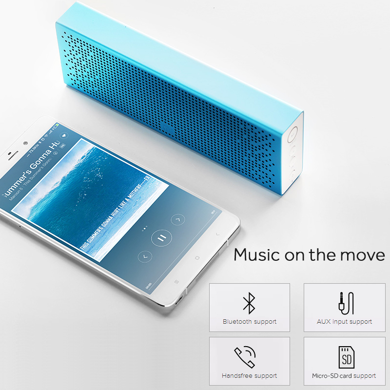 Xiaomi Bluetooth Speaker Portable Mini: Xiaomi Mi Bluetooth Speaker Wireless Stereo Mini Portable MP3 Player Pocket Audio AUX-in Support