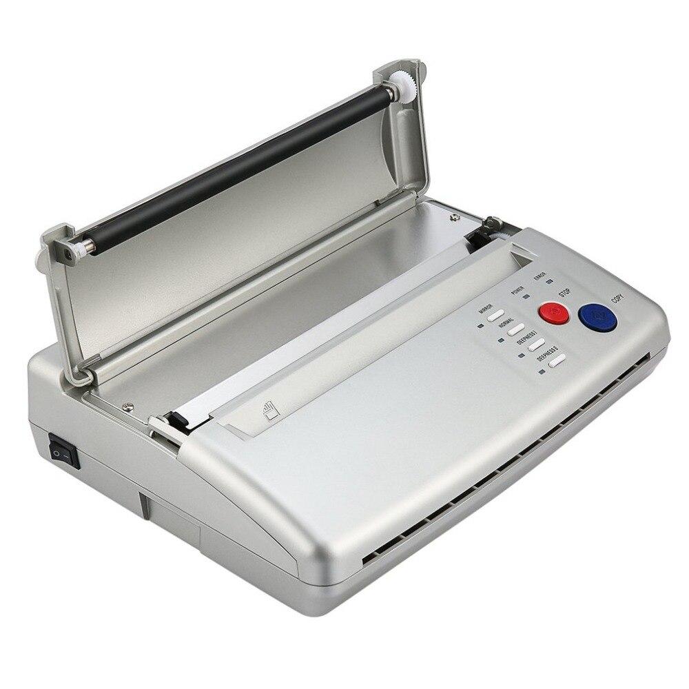 Style Professionnel Tatouage Pochoir Machine Machine de Transfert Flash Thermique Copieur Imprimante Fournitures Prise UE/USA