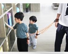 Kids safety wristband child wrist leash Baby Toddler Leash Strap Anti Lost bracelet Adjustable safety harness for children