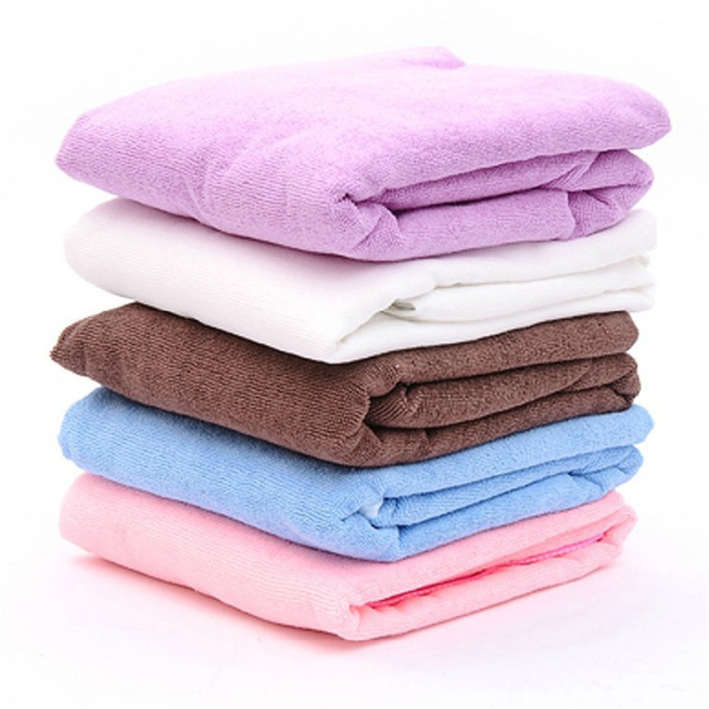 New Bath Towel Fashion Lady Towel Beach Spa Bathrobes Girl Wearable Fast Drying Magic -6336