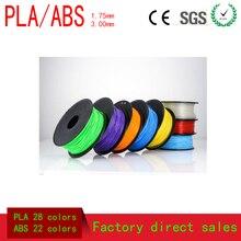 1china 28 color 1KG PLA 1.75mm 3D Printing Materials 3D Printer Filaments For MakerBot RepRap and UP… 1.75mm  3D pen Printer