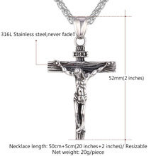 Crucifix Jesus Piece Pendant