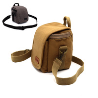 Canvas Camera Case Shoulder Bag For Panasonic LUMIX LX100 LX15 LX10 LX7 LX5 LX1 LZ40 LZ30