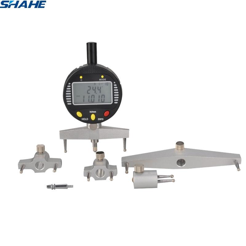digital radius gauge digital radius indicator with 5 changeable measuring jaw Measurement Tool