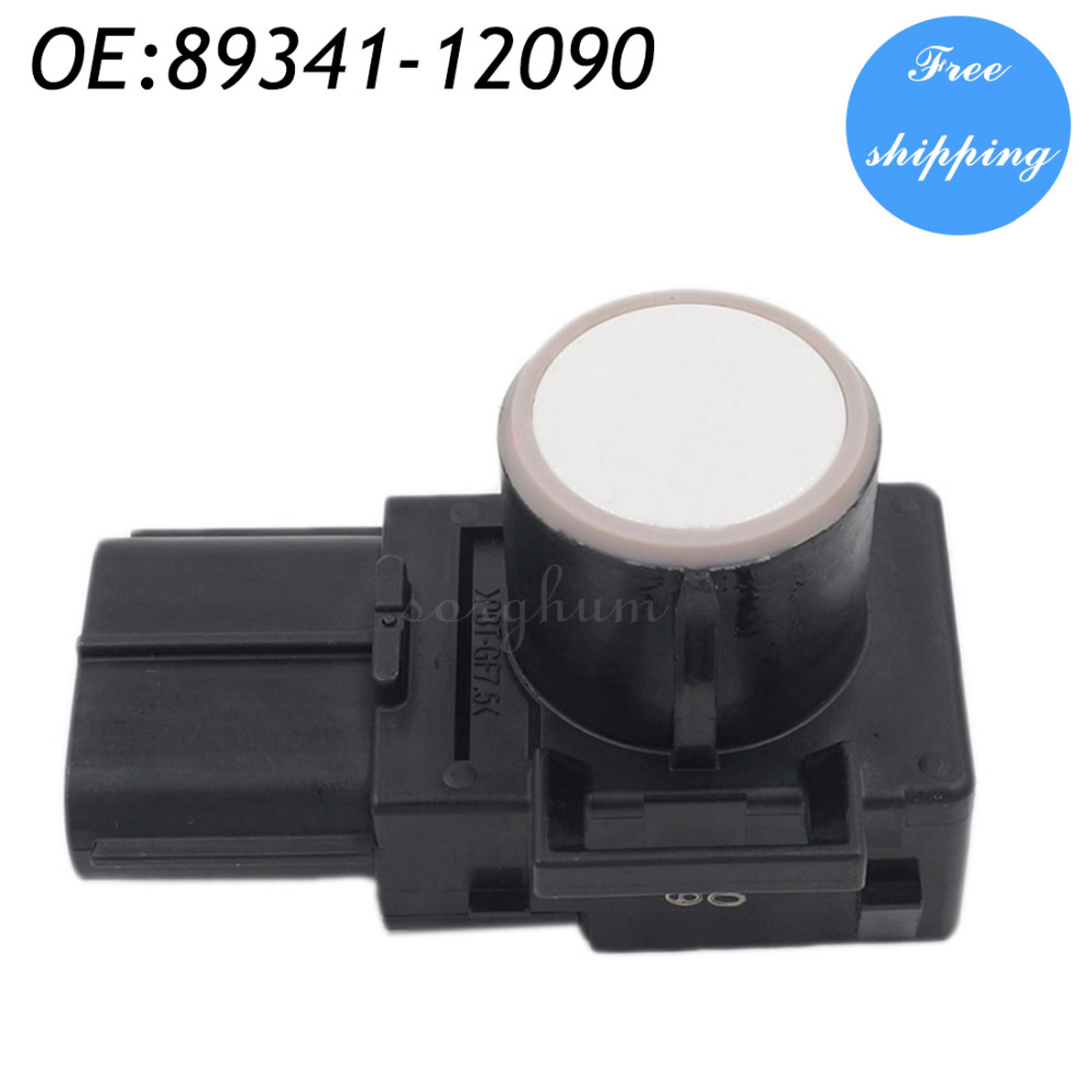 89341-12090 188300-0780 Parking Sensor Distance Control Sensor Car Detector For Toyota White Color Alarm Systems & Security