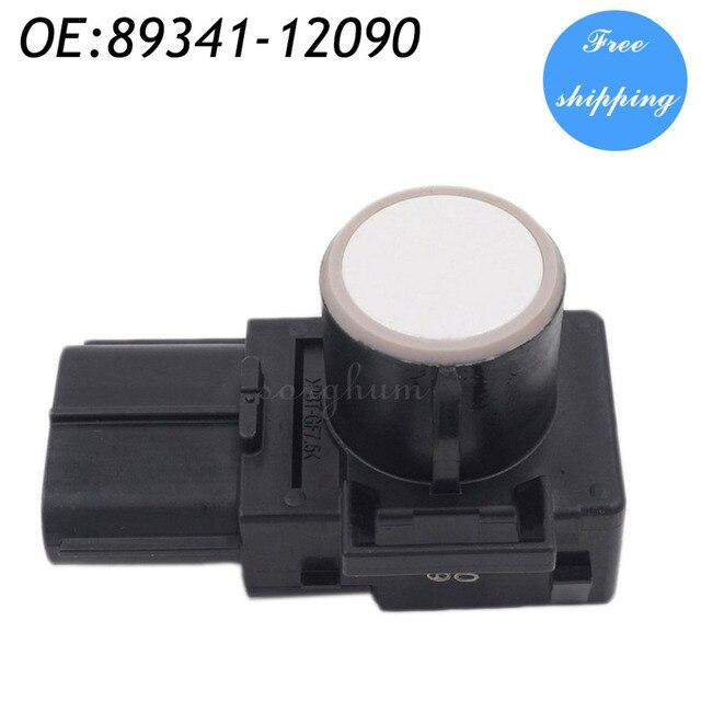 89341-12090 188300-0780 Parking Sensor Distance Control Sensor Car Detector For Toyota White Color