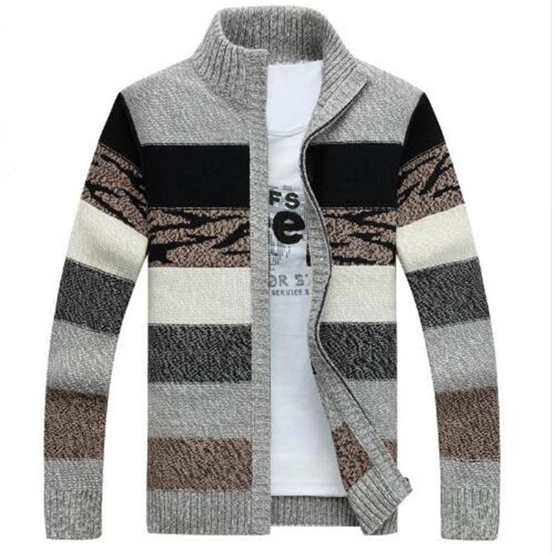 TIMESUNION homme Tricoté Pulls Cardigans Col Hiver Pull En Laine Mode Gilets Homme Pulls Manteau Marque vêtements pour hommes