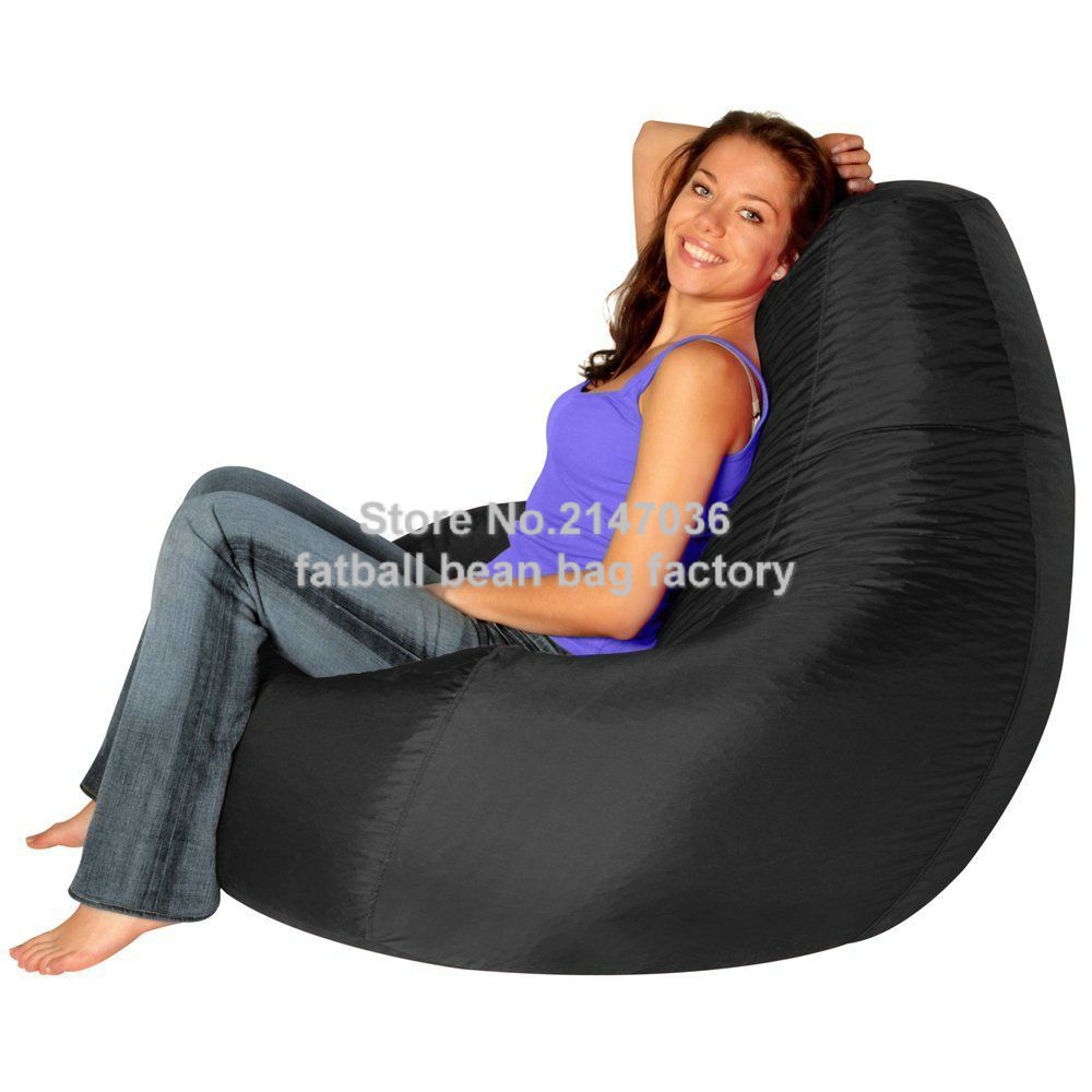 XXL gamer bean bag outdoor chair, external furniture sofa seat gamer