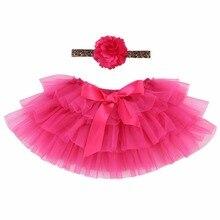 Cute Red Baby Dress Lace Tutu Baby Girl Vestido Infantil;Baby Clothing 2PCS Set Bebe Headband Ruffle Bow Princess Party Dress