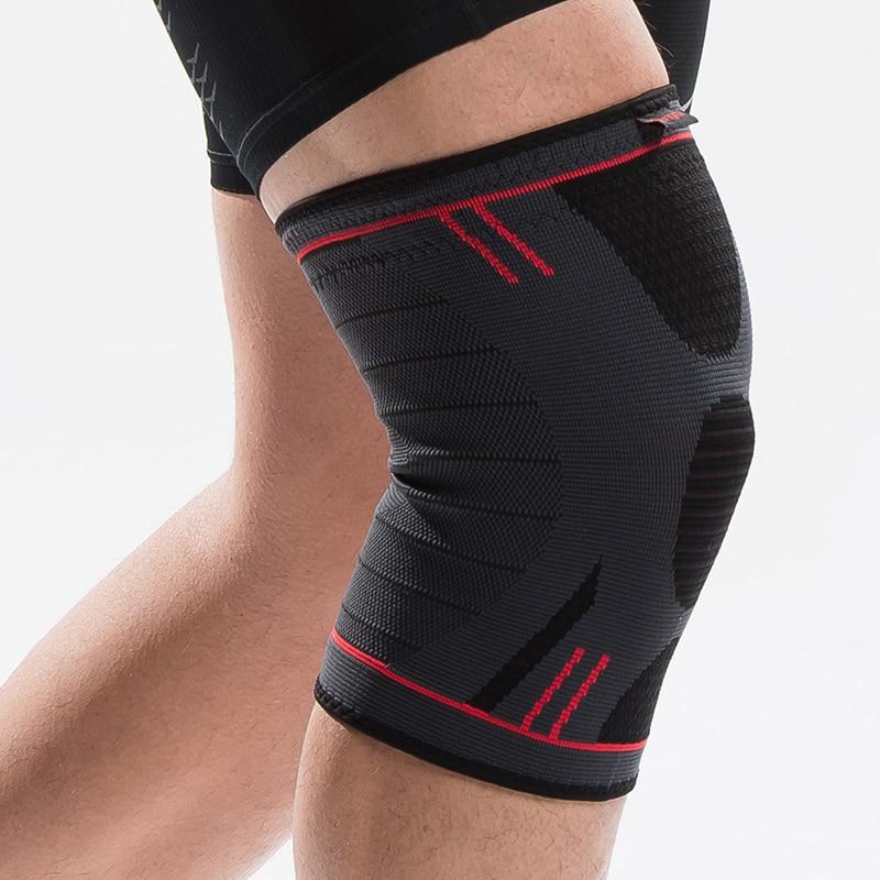 HTB1ElORRFXXXXc4aXXXq6xXFXXXA - Kuangmi 1 PC Compression Knee Sleeve Basketball Knee Pads Knee Support