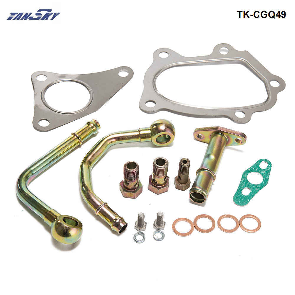 Комплект прокладок Turbocharger 49377 04300 подходит для TD04 TD04L Subaru FORESTER Impreza TK CGQ49|прокладка