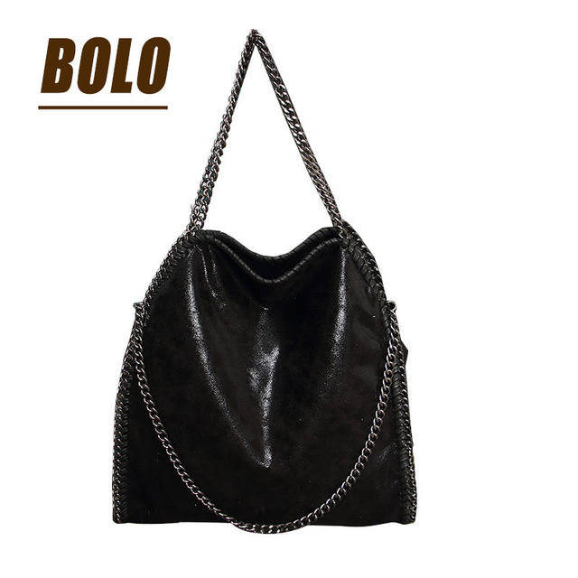 Женщины fala изящных мешок PU 0 с 3 цепи как пакет мешок тип женщин сумка раза по сравнению сумки с цепи