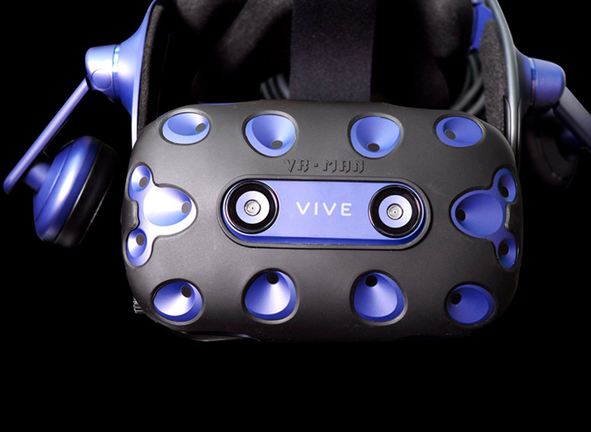 For HTC VIVE PRO VR Virtual Reality Headset Silicone Rubber VR Glasses Helmet Controller Handle Case 0031