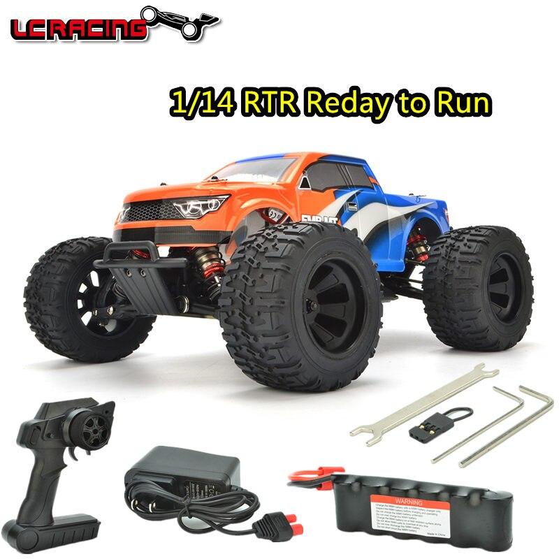 LC COURSE/Taco 1:14 EMB MT Brushless moteur Hors Route 4WD RC Voiture Châssis RTR assemblé contrôle Professionnel jouets