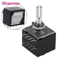 8 Pin потенциометр RH2702 зубчатые Разделение вал 6 мм Точность 27-тип A100K 100K G08 и Прямая поставка