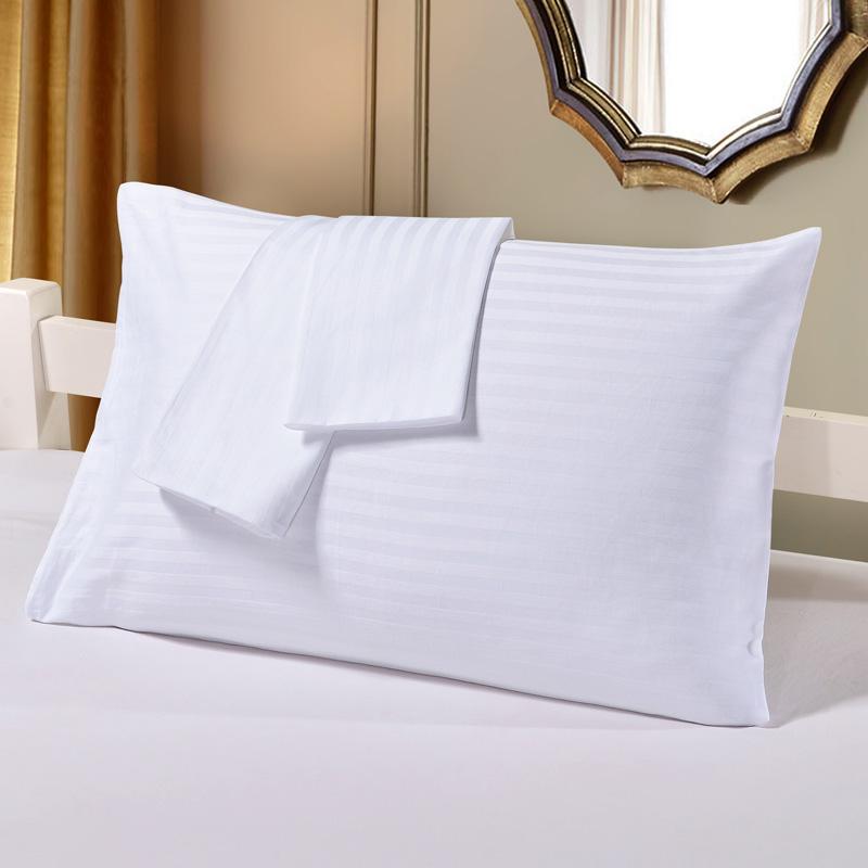 Weiss Kissenbezge Rechteck Bettwsche Hotel Home Kissen Wohnzimmer Sham Einzigen Weissen Abdeckung