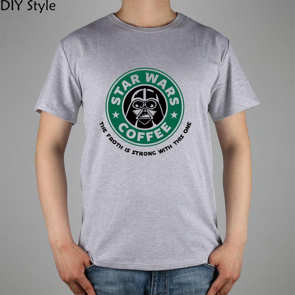 STAR WARS COFFEE la fuerza es fuerte con esta camiseta de manga corta - Ropa de hombre - foto 4